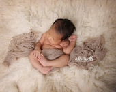 Latte RTS Stretchy Soft Newborn Knit Wraps 80 colors to choose from, photography prop newborn prop wrap