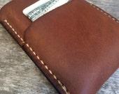 Minimalist wallet, The Washington, Mens wallet, Men's wallet, Front pocket wallet, Brown wallet, Leather wallet, Slim wallet, Small wallet