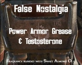 Paladin Danse inspired fragrance - Power Armor Grease & Testosterone