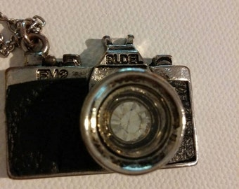 ON SALE Camera Necklace for the Photography Lover!