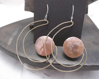 copper and brass shape