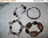 50% OFF vintage bracelets, stacking bracelets, fashion bracelets, destash bracelets
