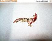 50% OFF Peacock brooch, rhinestone enamel peacock pin brooch, bird brooch