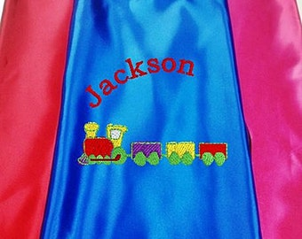 Super Hero Cape, Kid's Cape, Superhero, Costume Cape, Embroidered Personalized
