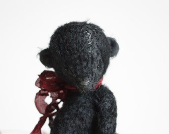 Made To Order Black Animal Teddy Bear Prosha Stuffed Pocket Soft Toy