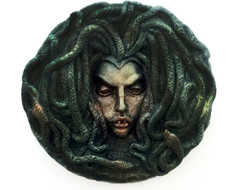 She's staring at you - Medusa Soap, 9 oz. Bath Sabbath Exclusive