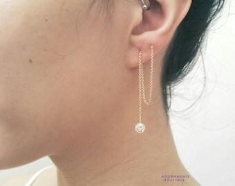 Janis Thread Earrings