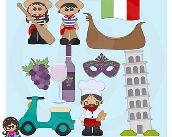 2016 International Kids Italy Clip art  Clipart Graphics  Commercial Use