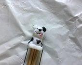 Dog  Double pointed needle holder