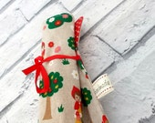 Little Red Riding Hood Crayon Roll, Pencil Roll, Crayon Holder, Pencil holder, Birthday Favors, Fairy Tale Crayon Roll, Stocking fillers.