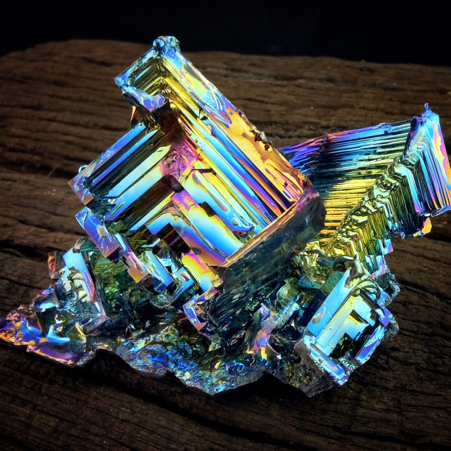 Bismuth Crystals and Jewelry by Element83 on Etsy - photo#37