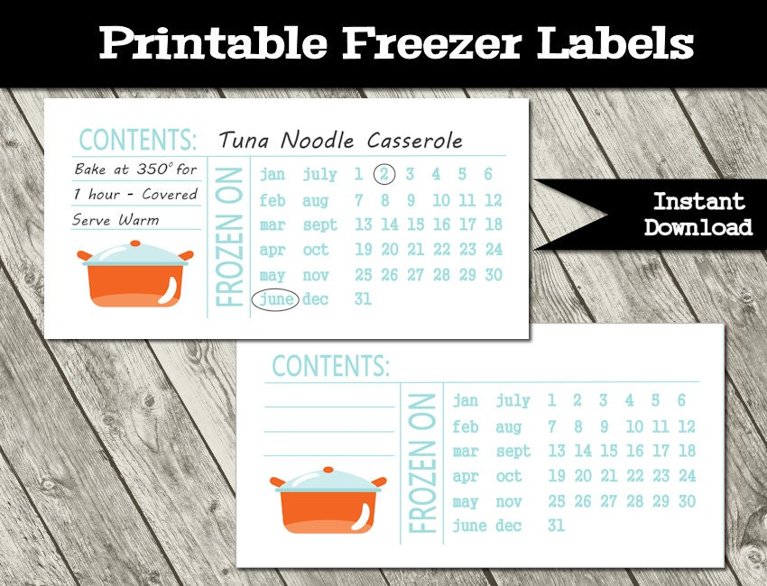 Old Fashioned image within printable freezer labels