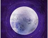 "A2 Artprint ""Moon/Earth"""