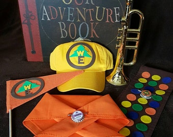 Disney Russell The Wilderness Explorer Costume from the movie UP, KIDS/BABY