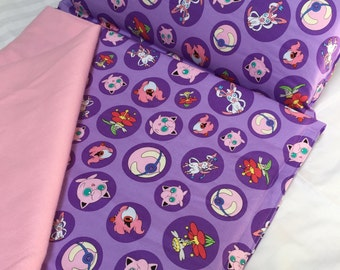 Nap Mat with Pillow and Blanket, Pokemon Nap Mat, Girl Nap Mat, Daycare Nap Mat, Toddler Nap Mat, Bedding for Girls, Preschool Nap Mat