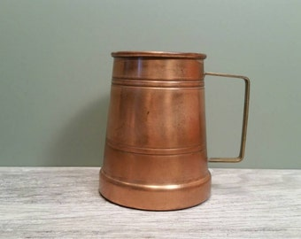 Douro B & M Copper Tankard - 18 Ounce