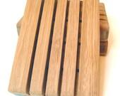 Bamboo Soap Dish - Handmade