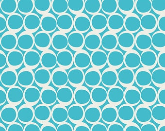 Round Elements by Art Gallery Fabrics, Crystalline Blue, ROE-307