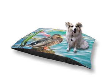 Pet Bed Dog Bed Duck Koi Water Pond 18x28 30x40