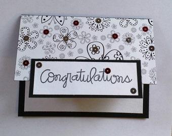 Graduation, High School, Gift Card, Congratulations, School, College, New Job, Retirement, Handmade Card, Niece, Nephew, Unique Card