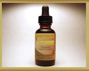 Meadowsweet (Filipendula ulmaria) Liquid Extract, Premium Extract, Top Quality