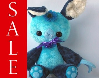 Easter Bunny Sprite Large Plush Bunny Doll With Color Changing Jewel