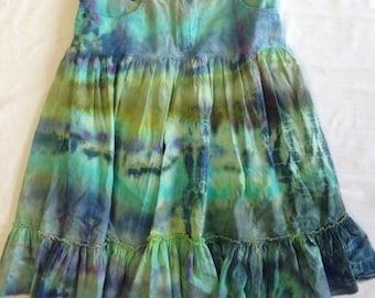 Funky Tie Dye misses Skirt size 2 W103