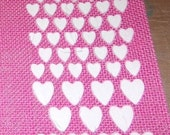 TIM HOLTZ HEARTs STENCIL  !!    -  Make a Beautiful VALENTINEs Day Project !