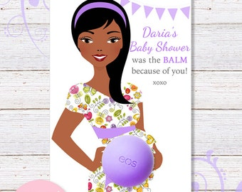 eos baby shower favors eos lip balm favor tags baby shower gifts african