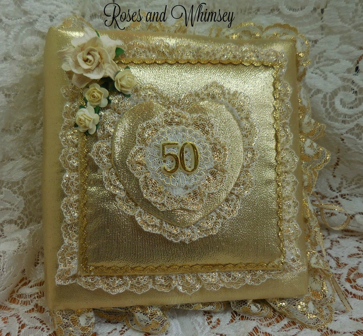 50th Wedding Anniversary Album Keepsake Pictures Jourmal