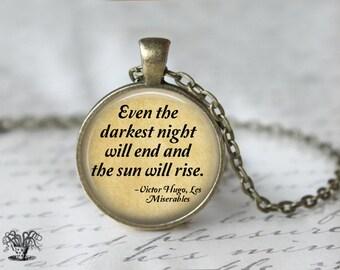 Les Miserables Book Necklace L99