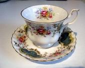 Tea Cup And Saucer Set, Bone China Tea Cup, English Royal Albert Teacup