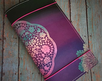 Regular Sized Faux Dori Toby Dori Majestic fairy travelers Notebook