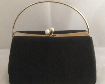 Black Frame Evening Handbag