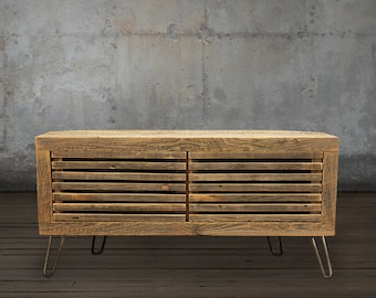 Reclaimed Wood Media Console / TV Stand, Reclaimed Wood Furniture