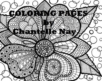 Coloring page CTR LDS art adult coloring picture digital
