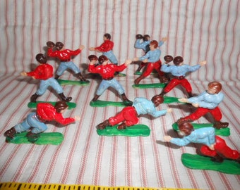 Eleven Cake Or Cupcake Football Players Toppers-New
