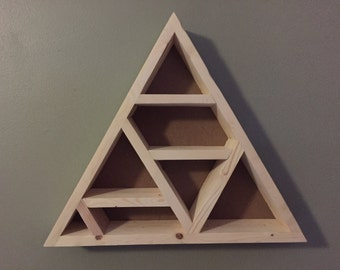 Custom Triangle Shelf-Unfinished  *Use coupon code 15OFF to get 15% of of your order*