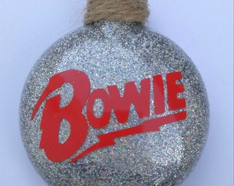 Bowie Ornament