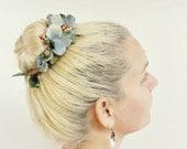 The Helena Bun Belt | floral wreath | hair bun crown | ballerina bun | boho style | hippie chic | bun crown | flower crown for your hair bun