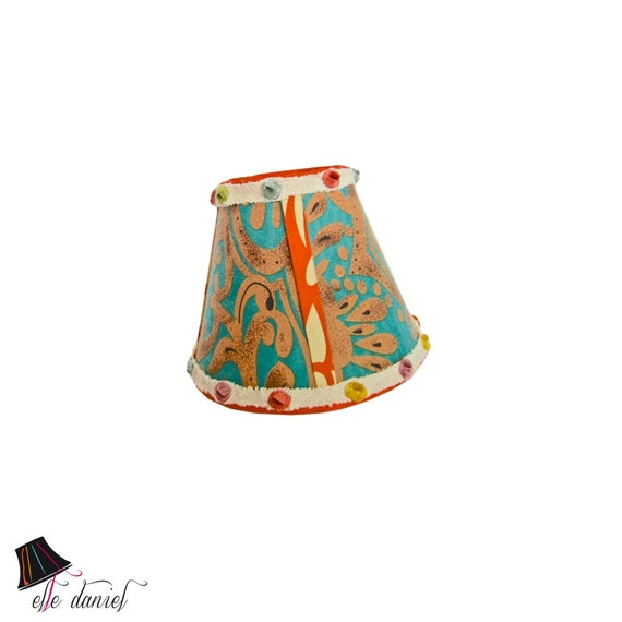 Small lamp shades retro lamp shade unique lamp shades like this item mozeypictures Images