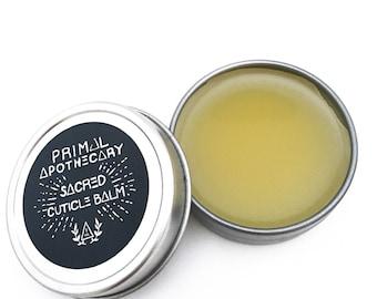 Sacred Cuticle Balm - Natural Vegan Nail Health