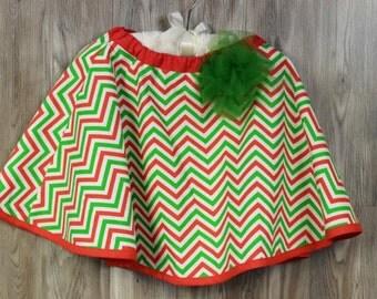 Girls size 4 Christmas Holiday Twirl Skirt