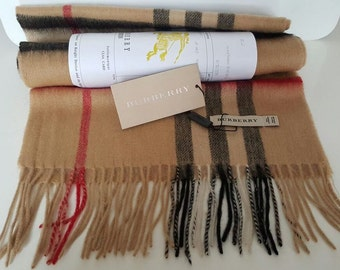 Burberry cashmere scarf burberry from USA valentine's day