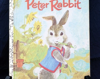 "Vintage Little Golden Book ""Peter Rabbit""(FAIR CONDITION)"