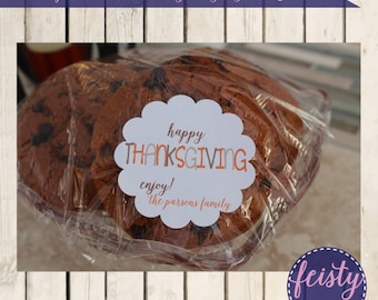 Personalized Thanksgiving Tags