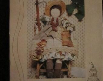 "Miss Albertine 21"" Country Herb Doll Pattern"