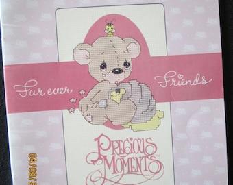 Furever Friends PM-5 Precious Moments Cross Stitch Charted Designs