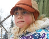 Kid's Winter Cap, Merino Wool