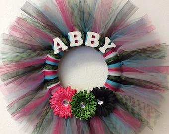 Custom Tutu Wreathes